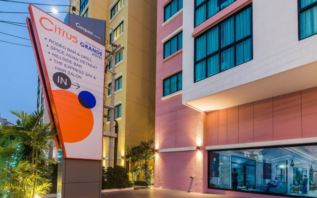 Citrus Grande Hotel Pattaya by Compass Hospitality вид на фасад