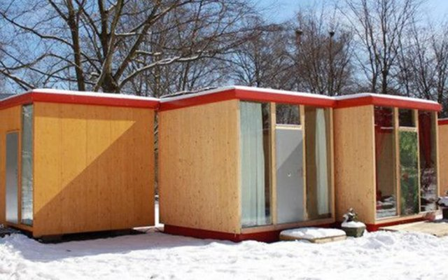 Отель Easy Lodges вид на фасад