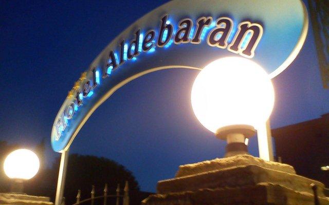 Aldebaran Hotel Фускальдо вид на фасад