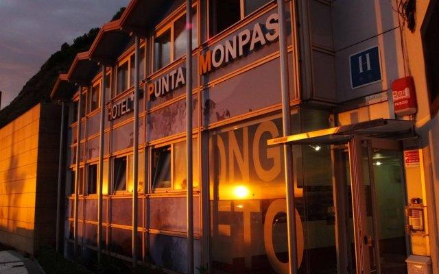 Отель Punta Monpas Сан-Себастьян вид на фасад