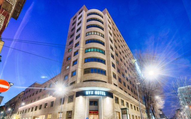 NYX Hotel Milan by Leonardo Hotels вид на фасад