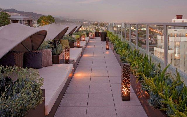 Отель Andaz West Hollywood Уэст-Голливуд вид на фасад