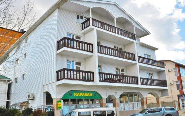 Гостиница Karavan 2 вид на фасад