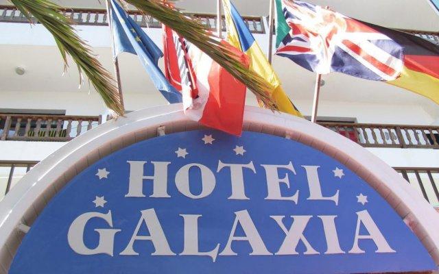 Отель Galaxia вид на фасад