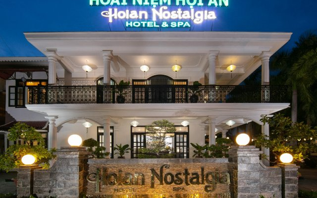 Hoian Nostalgia Hotel & Spa вид на фасад