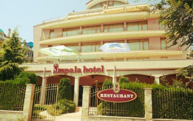 Отель Импала Отель Болгария, Варна - отзывы, цены и фото номеров - забронировать отель Импала Отель онлайн вид на фасад