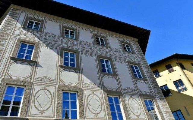 Отель Santa Croce Флоренция вид на фасад
