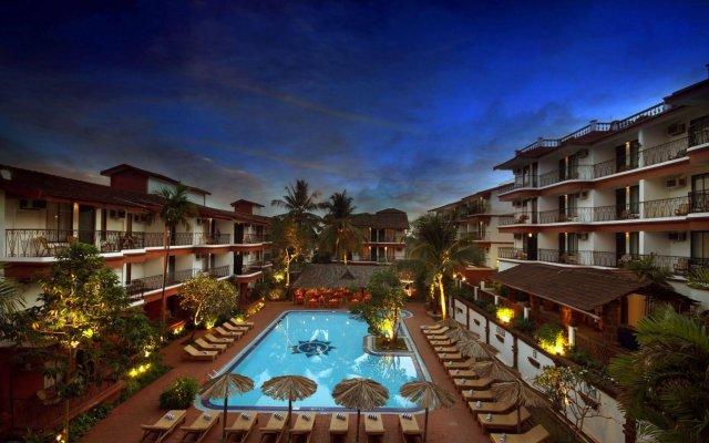 Отель Pride Sun Village Resort And Spa Гоа вид на фасад