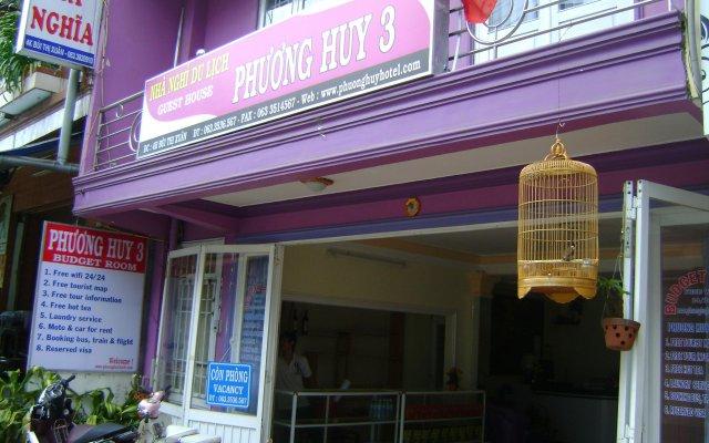 Отель Phuong Huy 3 Guest House Далат вид на фасад