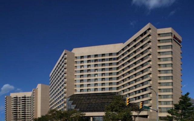 Отель Crystal Gateway Marriott США, Арлингтон - отзывы, цены и фото номеров - забронировать отель Crystal Gateway Marriott онлайн вид на фасад