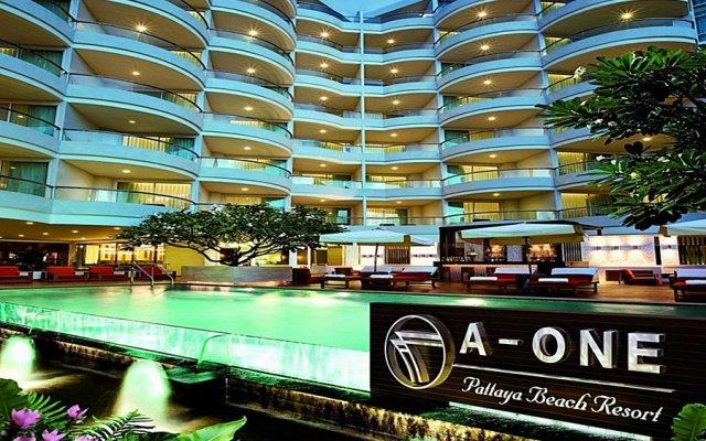 Отель A-One Pattaya Beach Resort вид на фасад