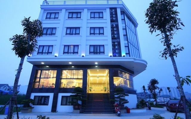 Halong Delight Hotel вид на фасад