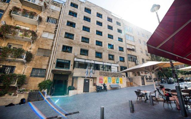 Отель Montefiore Иерусалим вид на фасад