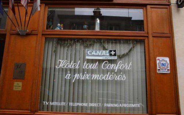 Hotel Telemaque вид на фасад