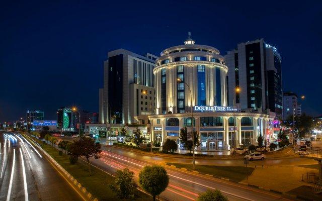 DoubleTree by Hilton Gaziantep Турция, Газиантеп - отзывы, цены и фото номеров - забронировать отель DoubleTree by Hilton Gaziantep онлайн вид на фасад