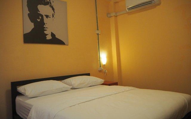April 24 Home Hostel Бангкок комната для гостей