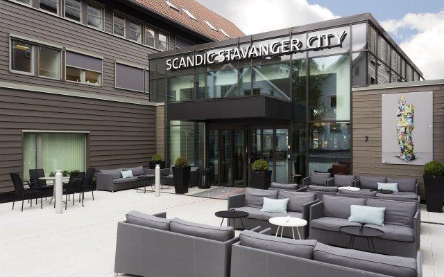 Отель Scandic Stavanger City Норвегия, Ставангер - отзывы, цены и фото номеров - забронировать отель Scandic Stavanger City онлайн вид на фасад