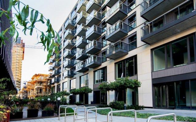 Отель erApartments Premium Mennica Польша, Варшава - отзывы, цены и фото номеров - забронировать отель erApartments Premium Mennica онлайн вид на фасад