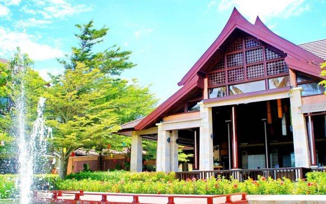 Отель APSARA Beachfront Resort and Villa вид на фасад