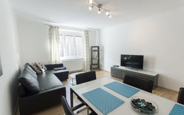 Апартаменты Apartment - Nähe Schottenring Вена комната для гостей