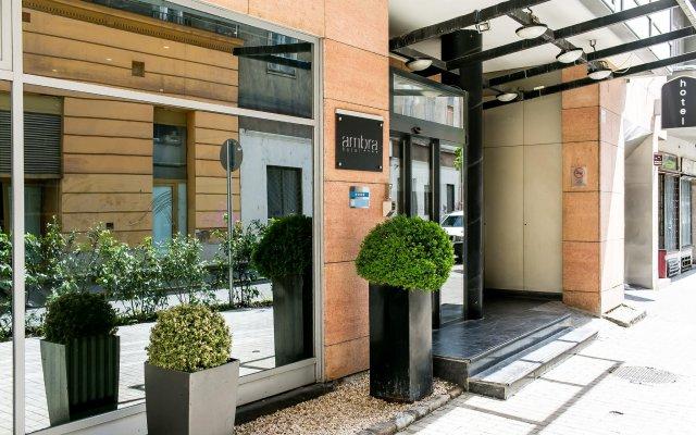 Ambra Hotel вид на фасад