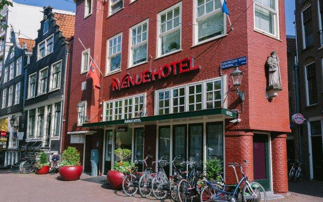 Hotel Avenue Амстердам вид на фасад