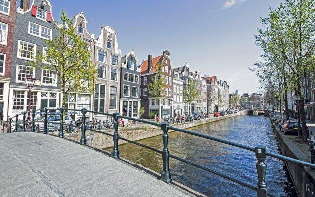 Отель Prinsengracht Hotel Нидерланды, Амстердам - отзывы, цены и фото номеров - забронировать отель Prinsengracht Hotel онлайн вид на фасад