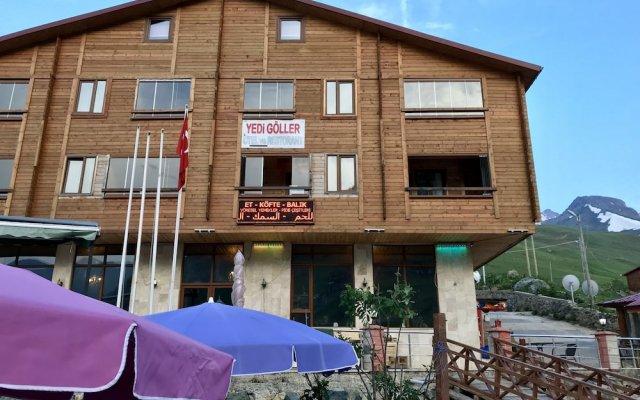 Yedigoller Hotel & Restaurant Турция, Узунгёль - отзывы, цены и фото номеров - забронировать отель Yedigoller Hotel & Restaurant онлайн вид на фасад