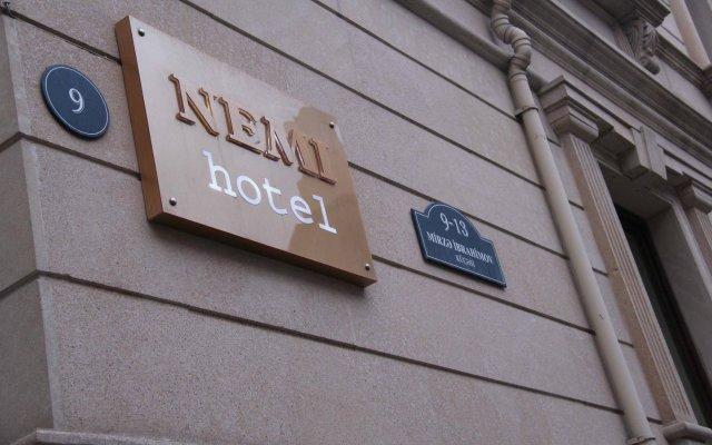 Отель Nemi вид на фасад