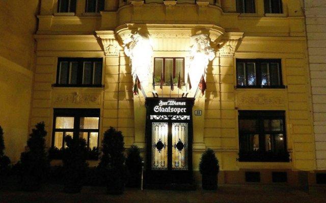 Отель zur Wiener Staatsoper Австрия, Вена - отзывы, цены и фото номеров - забронировать отель zur Wiener Staatsoper онлайн вид на фасад