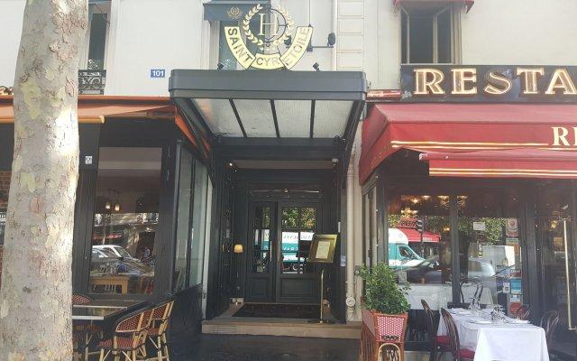 Отель Saint Cyr Etoile Париж вид на фасад