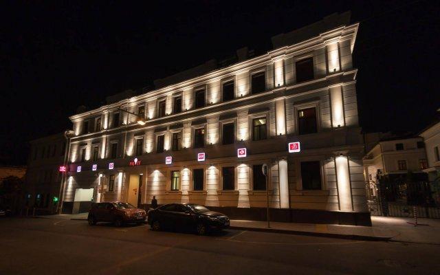 Отель Привет Москва вид на фасад
