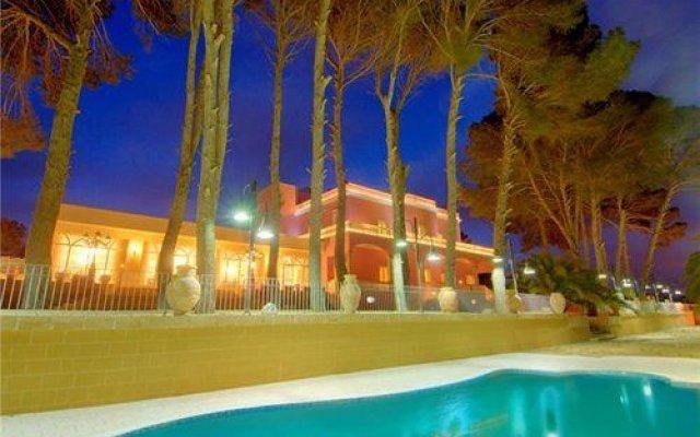 Hotel Resort Villa Giuliana Пресичче вид на фасад