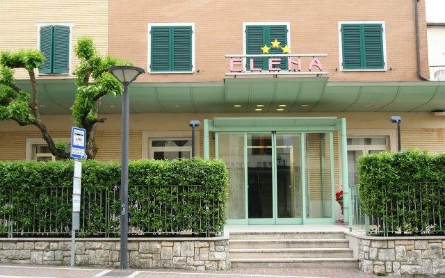 Hotel Elena Кьянчиано Терме вид на фасад
