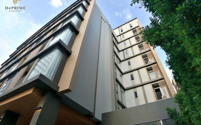 De Prime@rangnam, Your Tailor Made Hotel Бангкок вид на фасад