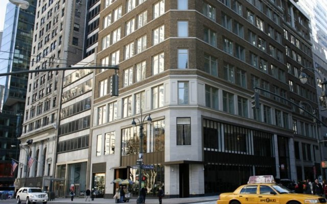 Отель Andaz 5th Avenue США, Нью-Йорк - отзывы, цены и фото номеров - забронировать отель Andaz 5th Avenue онлайн вид на фасад
