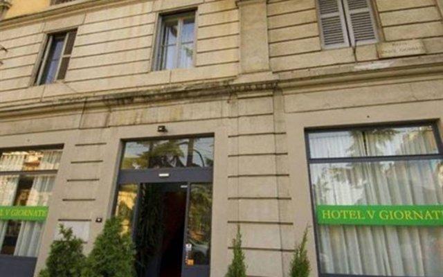 Отель Cinque Giornate Италия, Милан - отзывы, цены и фото номеров - забронировать отель Cinque Giornate онлайн вид на фасад