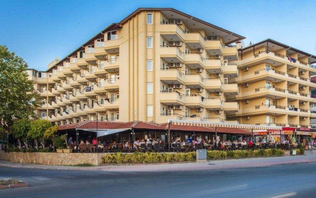 Kleopatra Beach Hotel - All Inclusive вид на фасад