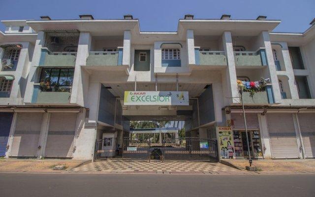 Отель OYO 12030 Home Cosy 2BHK Colva Гоа вид на фасад