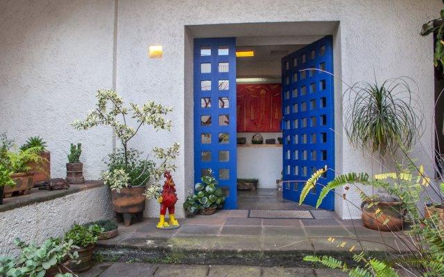 Отель Casa Habitación San Angel Мехико вид на фасад