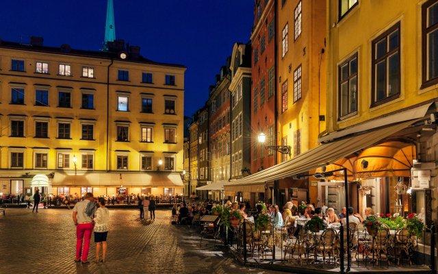Апартаменты Collectors Victory Apartments Стокгольм вид на фасад