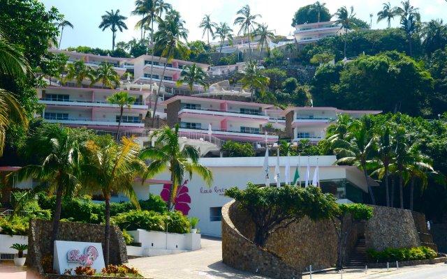 Отель Las Brisas Acapulco вид на фасад