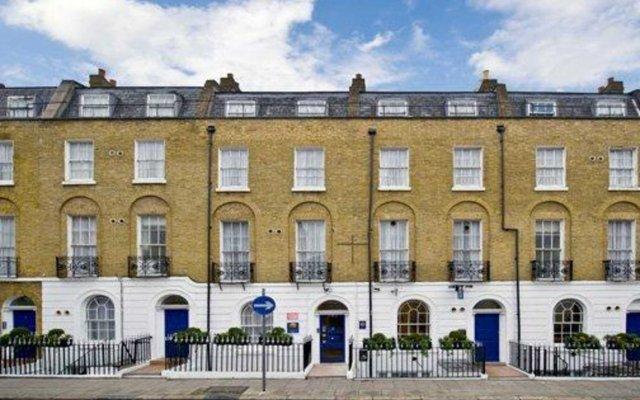Отель Comfort Inn St Pancras - Kings Cross вид на фасад