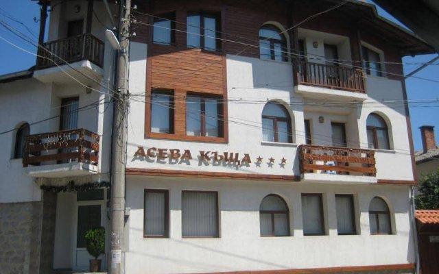 Отель Chalet Asevi Bansko Банско вид на фасад