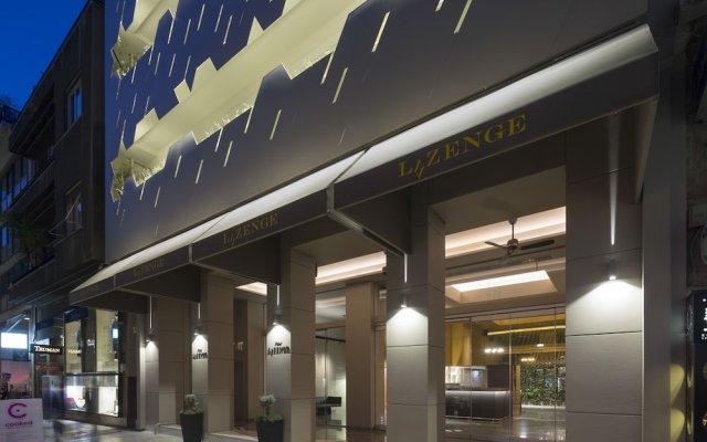 Hotel Athens Lycabettus Афины вид на фасад