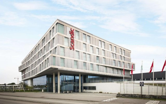 Отель Scandic Stavanger Airport Сола вид на фасад