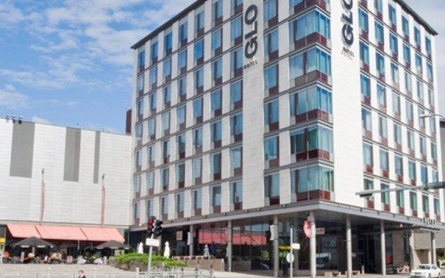 Отель GLO Hotel Espoo Sello Финляндия, Эспоо - 6 отзывов об отеле, цены и фото номеров - забронировать отель GLO Hotel Espoo Sello онлайн вид на фасад