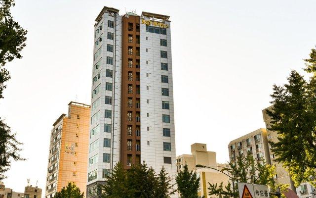 Отель YD Residence вид на фасад