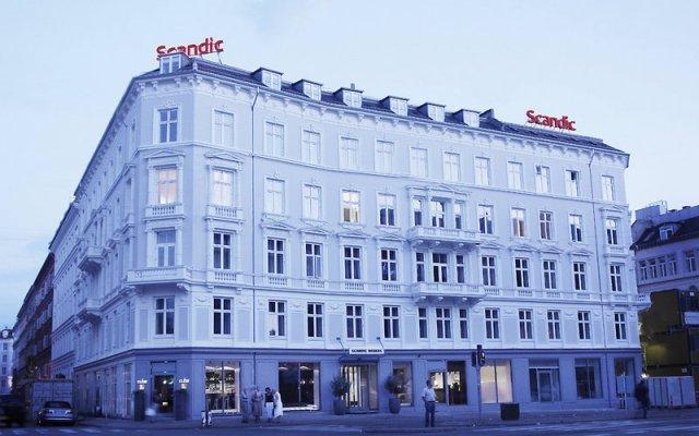 Отель Scandic Webers вид на фасад