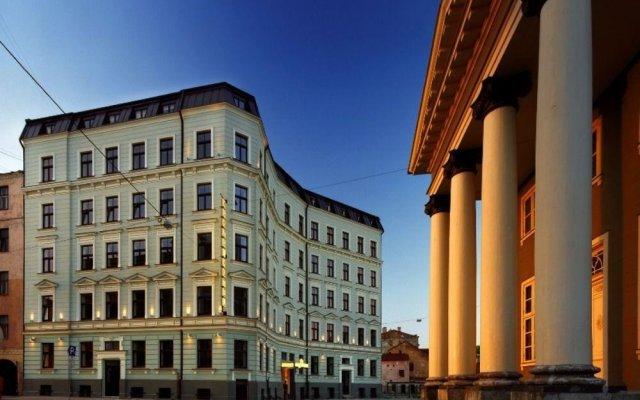 Hanza hotel вид на фасад